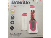 BREVILLE BLEND ACTIVE Just Blend and Go still in box unwanted gift