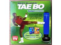 TAE BO TRAINING KIT - With Inflatable Punch Bag, 2 DVD's by Billy Blank, Box, Pump & Instructions