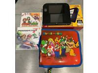 Nintendo 2ds, Mario Kart and carry case