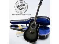 1980s USA Ovation Collector's Series 1983 No. 892 Limited Edition & Case & COA