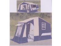 TRAILER TENT FOR SALE, 2 BERTH,WITH LARGE AWNING, WITH ALL EQUIPMENT, GOOD SOUND CONDITION