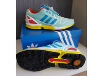 Adidas originals ZX flux techfit. UK size 9.5. New in box.