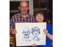 Wedding Caricaturist Caricatures artist