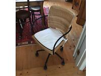 Ikea rattan desk chair