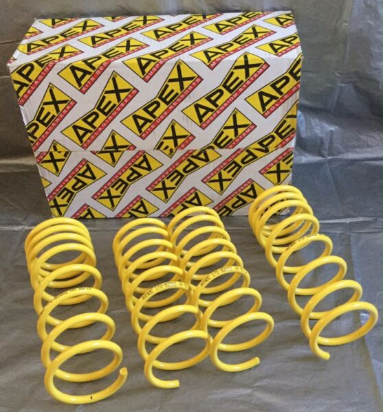 GENUINE APEX LOWERING SPRINGS TOYOTA MR2 MK3 ZZW30 ROADSTER MR-S BRAND NEW 30MM DROP for sale  Willenhall, West Midlands