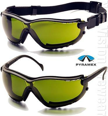Pyramex V2g Ir3 Anti Fog Welding Lenses Safety Glasses Hybrid Goggles Z87