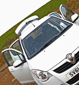 Vauxhall Agila S Eco*33000mls*Tax £20yrly*Svc/Mot due Oct '17*Sugar White 2 Coat Pearlescent*1 Owner