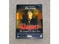 WAGNER - Richard Wagner 4 DVD Biopic Starring Richard Burton.