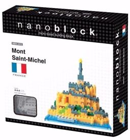 Nanoblock Mont Saint-Michel: Brand New