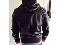 Mens Leather Jacket - River Island for Sale. Good Condition