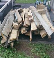 Free pressure treated wood in bradford