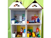 original Ikea dolls house with furniture and figures £25 (Horsford Nr Norwich)