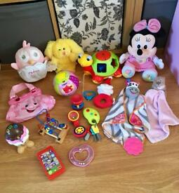 Baby Girls Toys Bundle