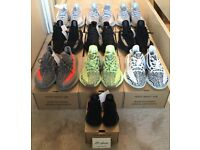DS YEEZY 350 BOOST V2 BLUE TINT FROZEN YELLOW BELUGA OREO GREEN COPPER INFANT BRED NOT OFF WHITE