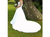 Alfred Angelo White Wedding / Party Dress UK Size 10 RRP £950 Pronuptia
