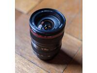 Canon 24-105mm IS USM f4 (f/4) L Lens - Excellent Condition