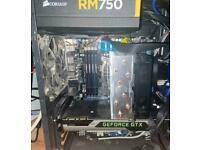 NEED GONE SOON - Gaming pc/ Workstation - i7 - GTX 980 - 32GB RAM - 2TB HDD - 120GB SSD BOOT DRIVE