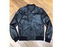 Leather Bomber COS Men's jacket
