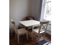 For sale - Ikea winged table and chair set