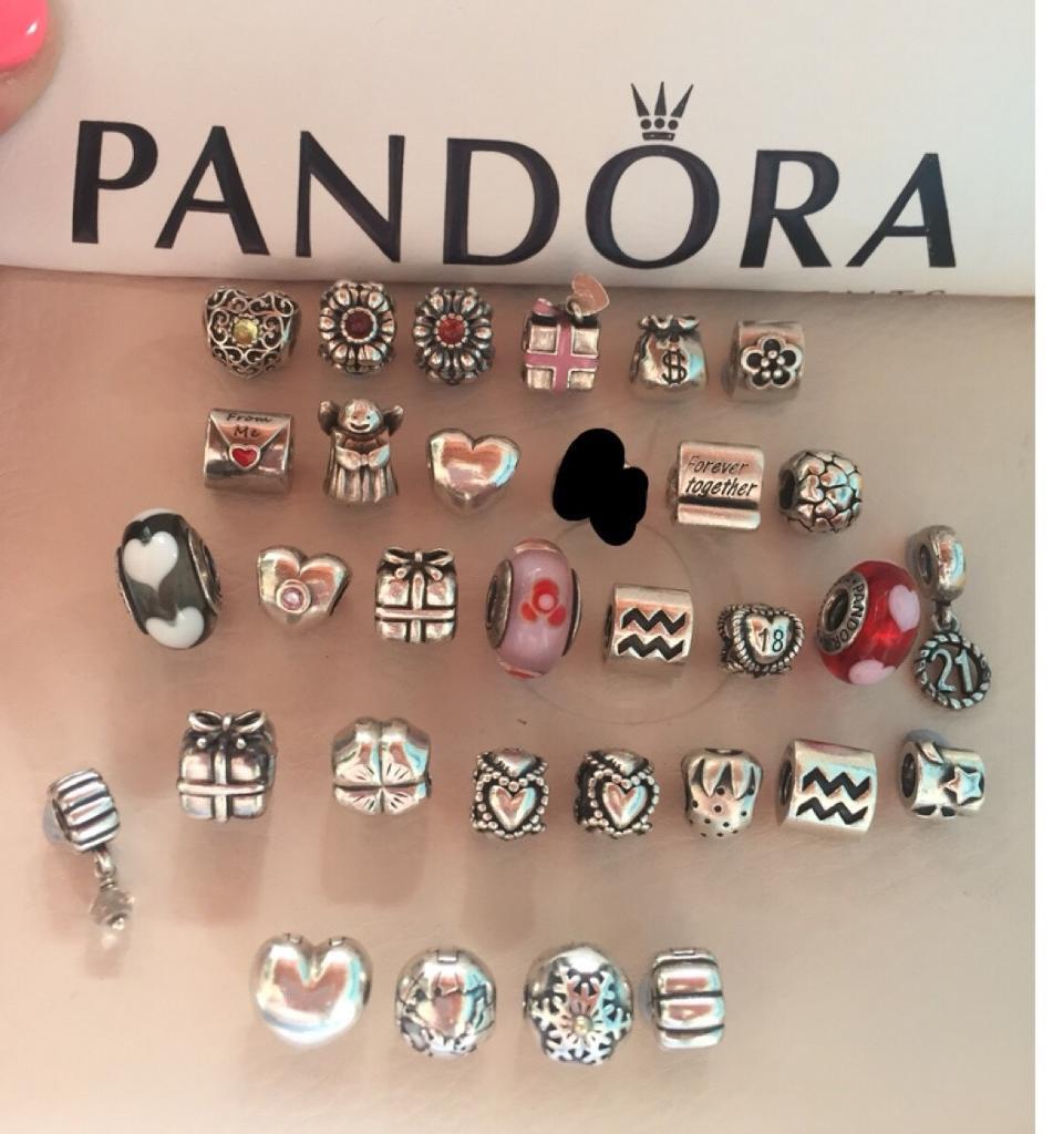 Genuine pandora charms PRICES £10-£20 EACH