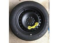 SPACE SAVER WHEEL AND TYRE - FORD