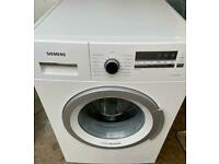 Siemens new model digital timer display 8 kg fully working energy efficient washing machine