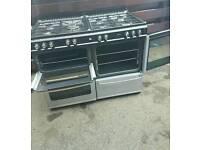 Stainless steel range cooker 110cm