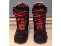 DECATHLON RN'X 7 SNOWBOARD BOOTS - UK SIZE 8 EUR 42