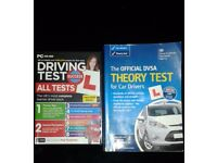 Official DVLA theory test book and dvd