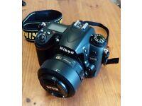 Nikon D7000 with nikon 35mm 1.8 lens