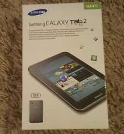 Samsung Galaxy Tab 2 GT 8gb boxed