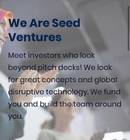 Seed Ventures!