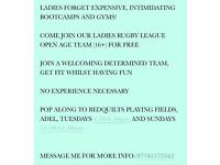 LADIES OPEN AGE RUGBY LEAGUE (16+)