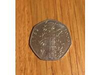 Rare 2009 'Kew Gardens' 50 pence coin.
