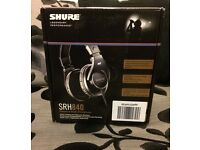 Shure SRH840 Reference Studio Headphones