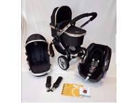 Icandy peach 2 full travel system pram/pushchair