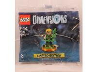 Limited edition Lego dimensions Green Arrow minifigure game character