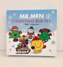 Mr Men Christmas Book Box Set for Children