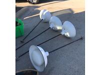 Industrial lights USA x4