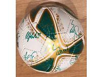 Signed Brand New Celtic Ball