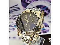 MEN'S TISSOT PRS200 CHRONOGRAPH***SAPPHIRE CRYSTAL***SERVICED***12 MONTHS WARRANTY***