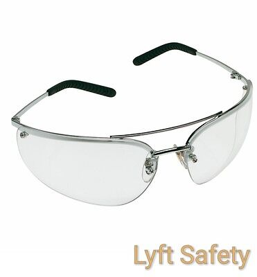 3m Metaliks Safety Glasses Polished Eye Protection Anti-fog Lens 15172-10000-20