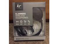 BRAND NEW (KS) SLAMMERS WIRELESS HEADPHONES ONLY £25