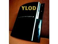 PS3 PlayStation3 - YLOD (Yellow Light of Death) 80GB (Spares or Repairs)