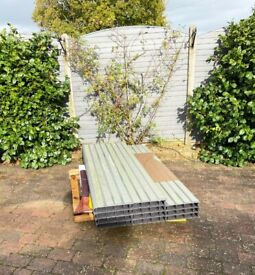 New – Eleven Eco Fencing Panels.
