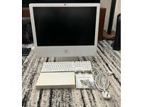 "Apple iMac A1200. late 2006 24 "" screen."