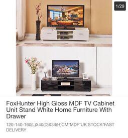 Black High gloss TV Unit for sale £60.00