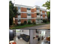 A stunning 2 bedrooms 1st floor flat, 10 mins walk to Staines Station, new kitchen and bathroom,gas