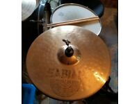"Basic CB Drum Kit with Professional cymbals, 26"" Planet Ride, 20"" zildjian ride & Sabian Hi-hat"