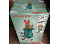 Bosch AXT Rapid 2000 electric shredder BRAND NEW IN BOX